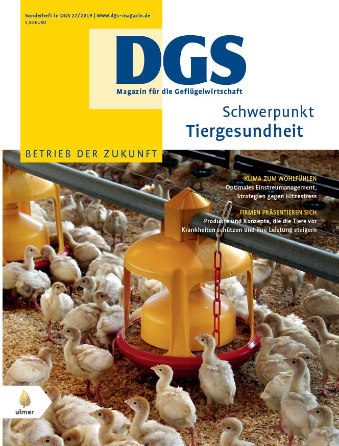 DGS Sonderheft Tiergesundheit