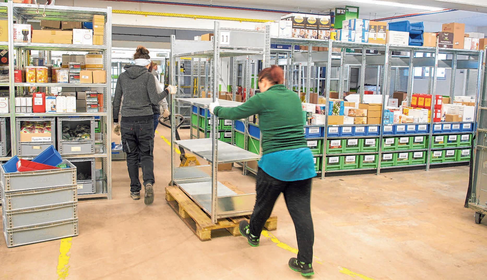 4 900 Artikel- und Produktgruppen wurden von den Mitarbeitern während des Unternehmensumzugs bewegt.