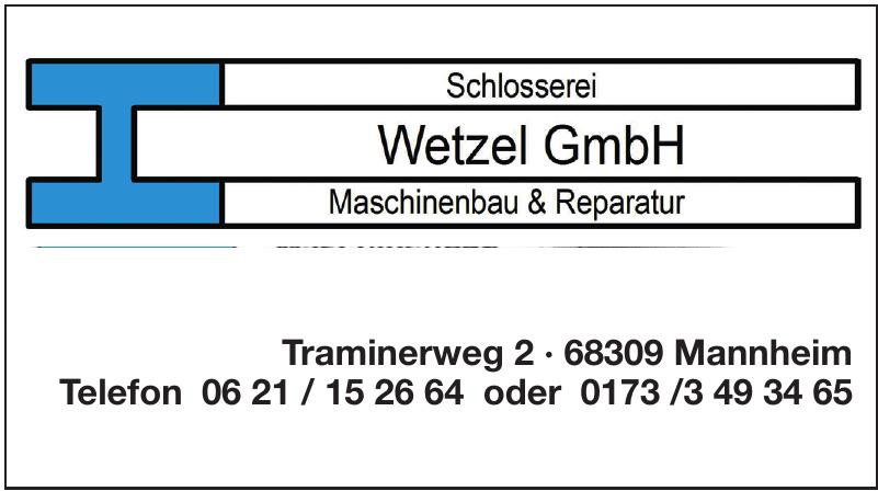 Schlosserei Wetzel GmbH