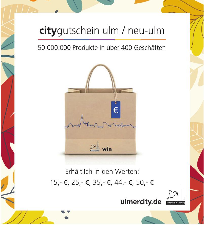Ulm City Marketing e.V.
