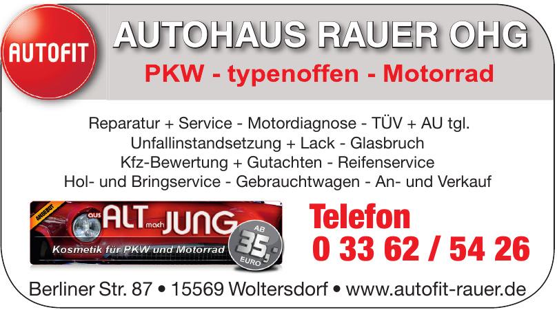 Autohaus Rauer OHG