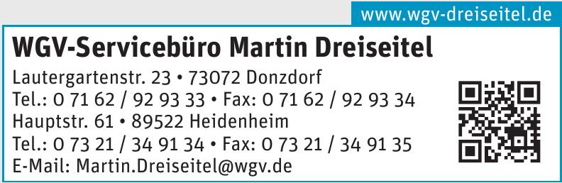 WGV-Servicebüro Martin Dreiseitel