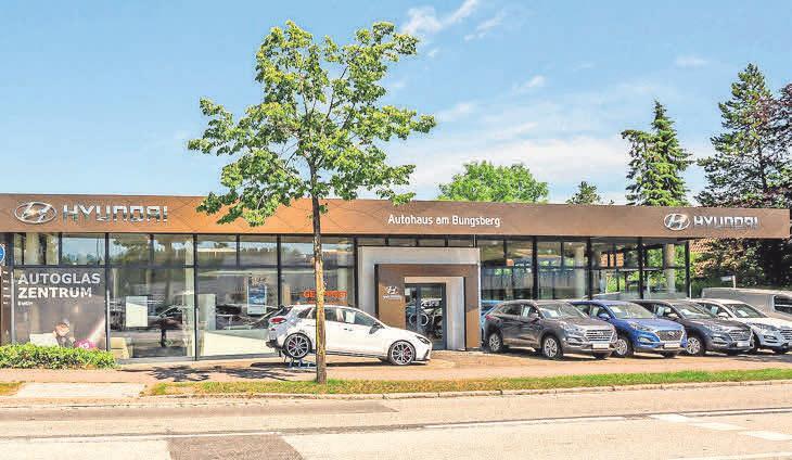 Das Autohaus in Eutin mit der Marke Hyundai.