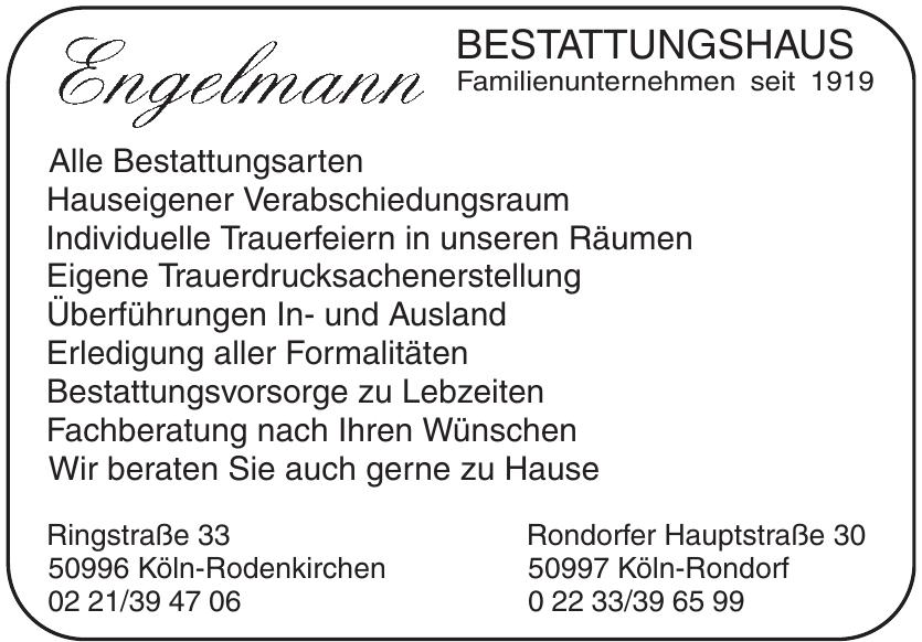 Engelmann Bestattungen