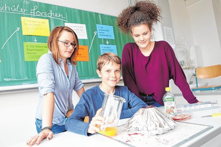 An der Erich Kästner Schule steht gemeinsames Lernen im Vordergrund