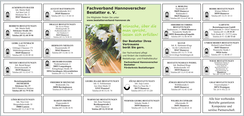 Fachverband Hannoverscher Bestatter e. V.