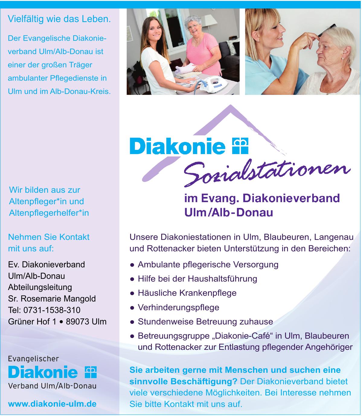 Evangelischer Diakonieverband Ulm/Alb-Donau