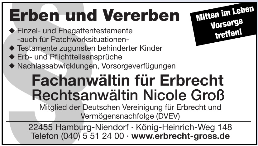 Rechtsanwältin Nicole Groß