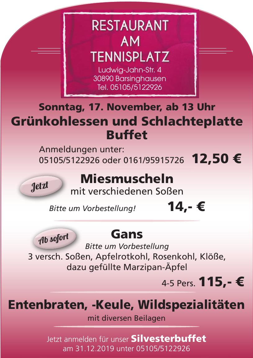 Restaurant am Tennisplatz