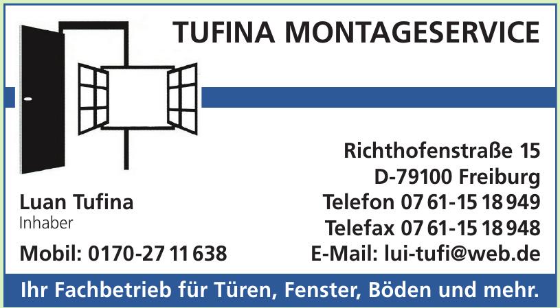 Tufina Montageservice