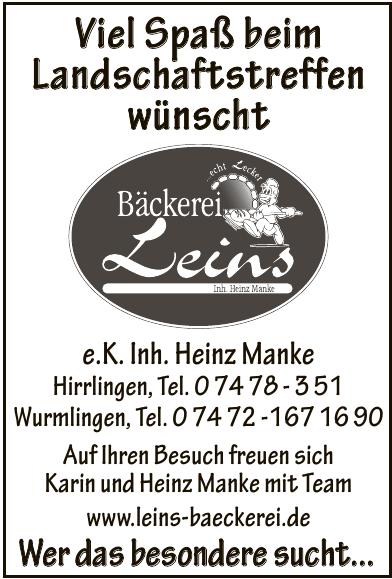 Bäckerei Leins e.K. Inh. Heinz Manke
