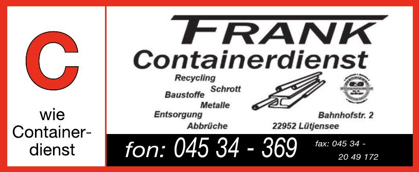 Frank Containerdienst