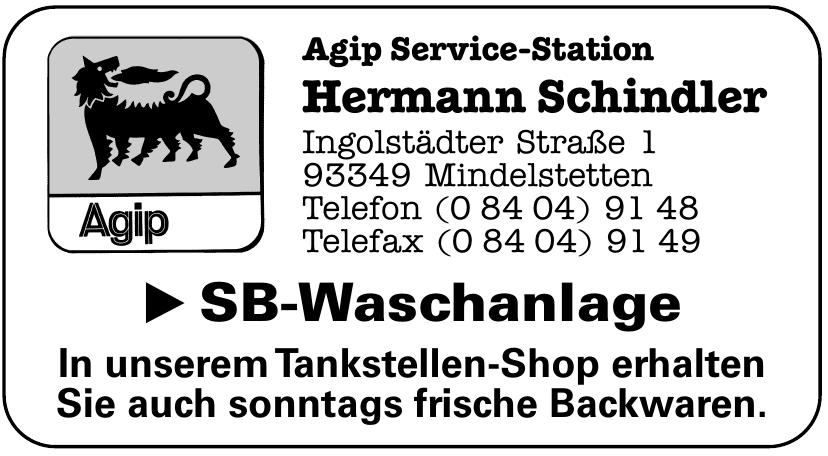 Agip Service-Station Hermann Schindler