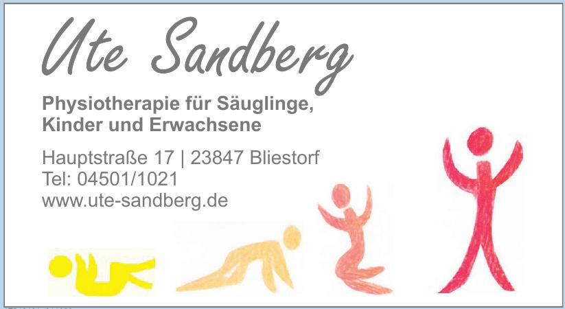 Ute Sandberg Physiotherapie für Säuglinge, Kinder und Erwachsene