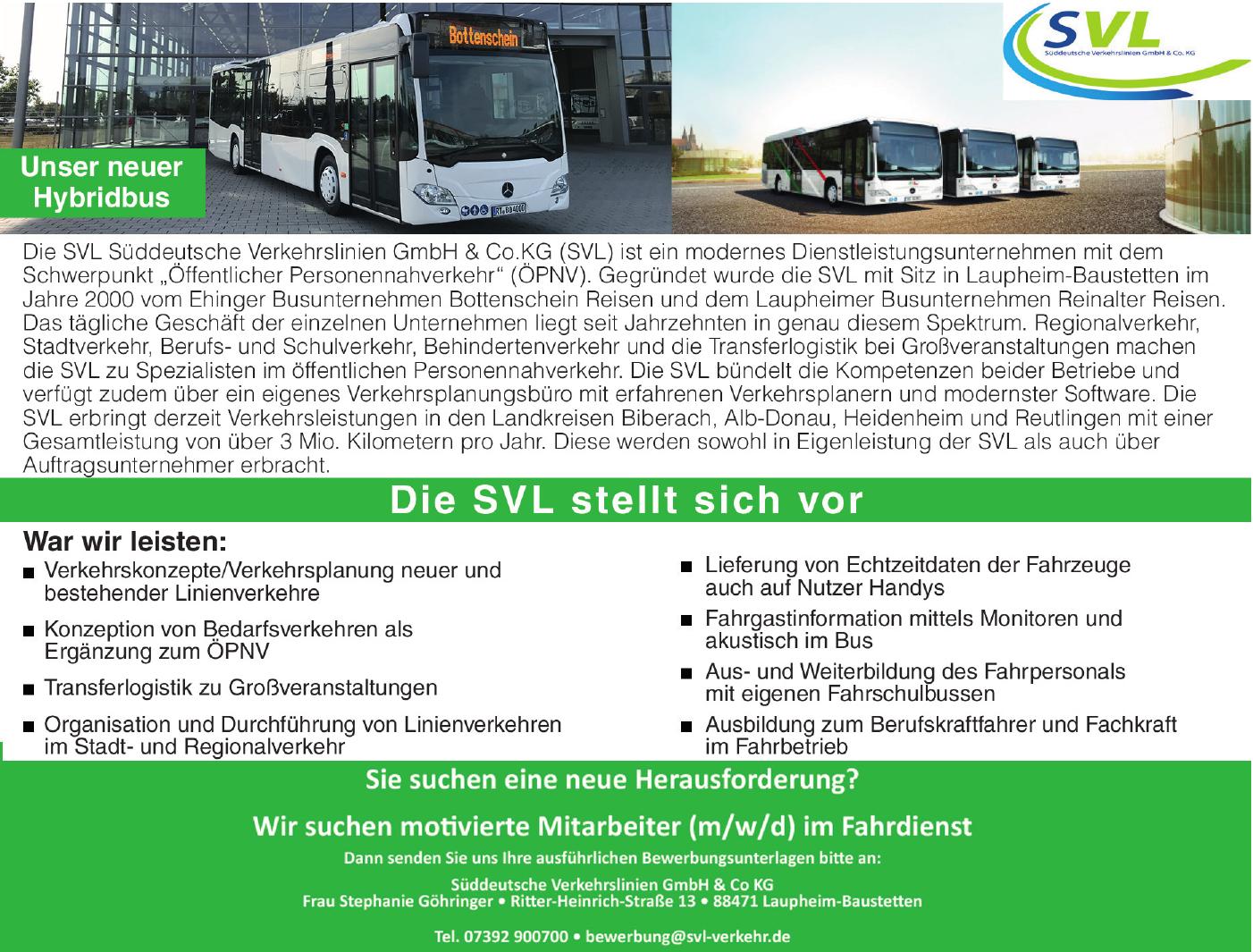 Süddeutsch Verkehrslinien GmbH & Co KG