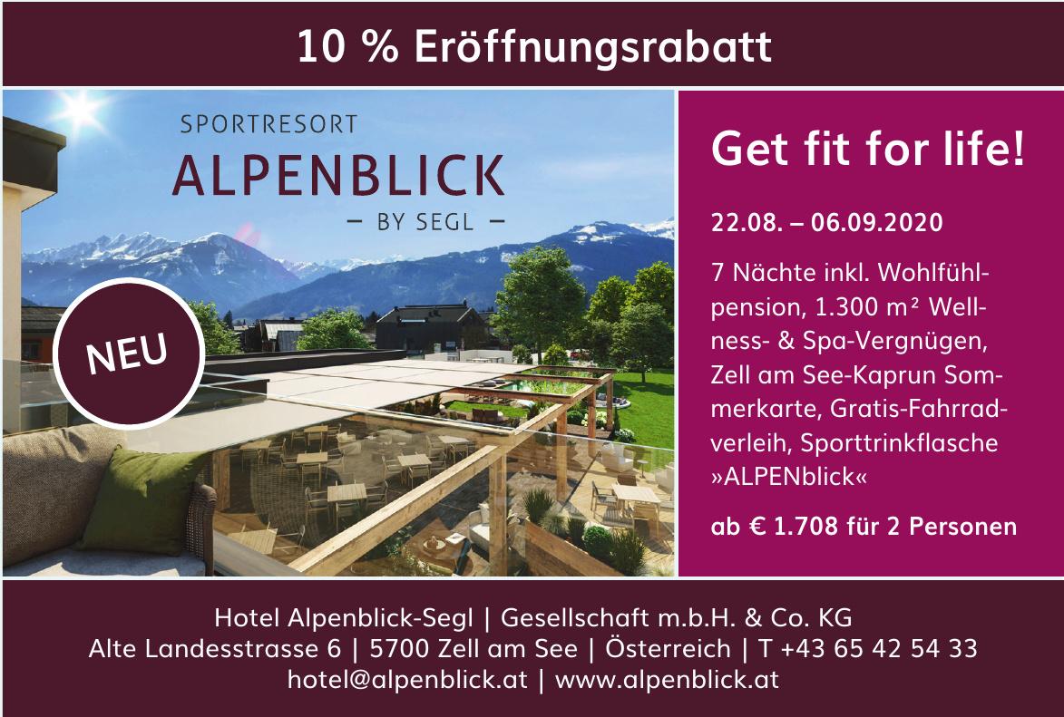 Hotel Alpenblick-Segl Gesellschaft m.b.H. & Co. KG