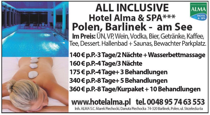Hotel Alma & SPA