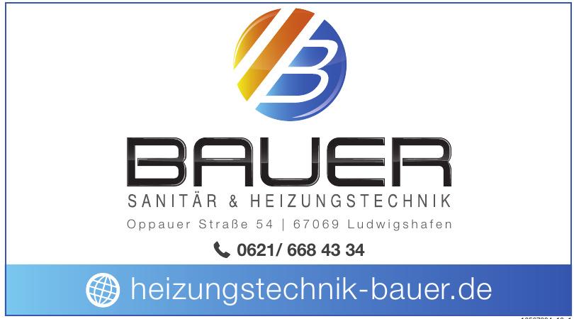 Bauer Sanitär & Heizungstechnik