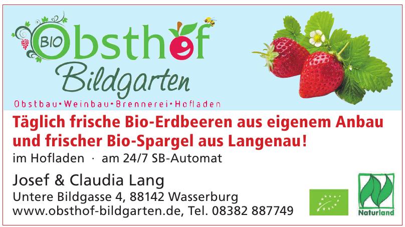 Obsthof Bildgarten Josef Lang