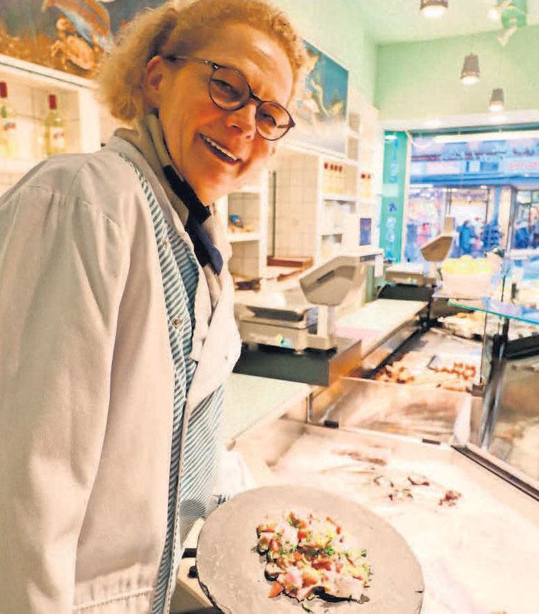 In Thürnaus Fischhalle gibt's guten Fisch für die figurfreundliche Küche.