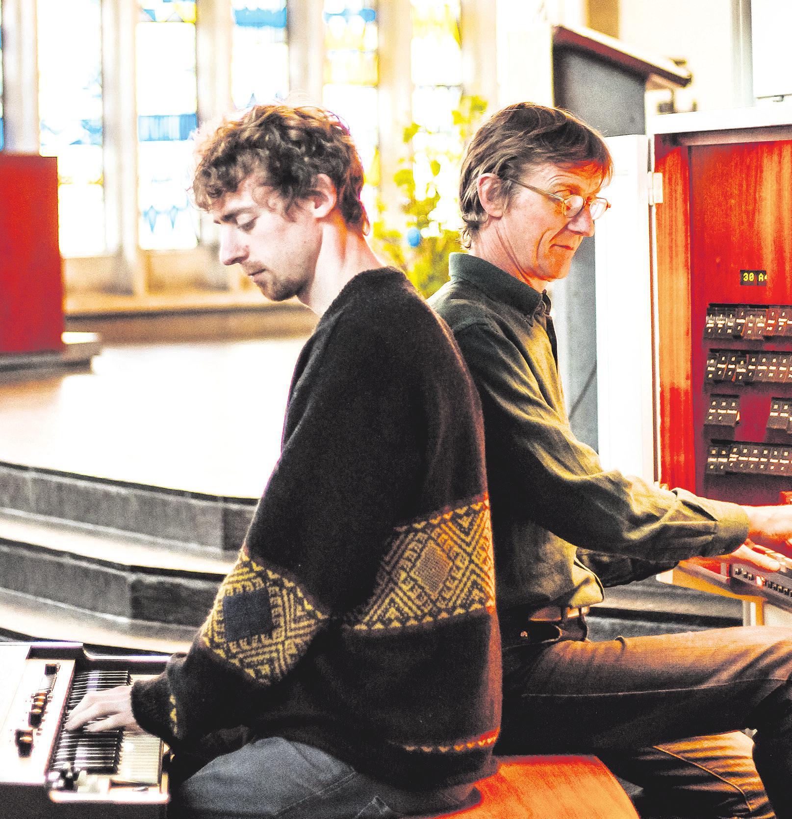 "Das Orgel-Duo ""Stylus fantasticus"". Foto: Lisa Rehbock"