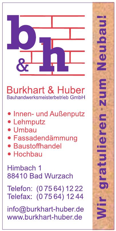 Burkhart & Huber