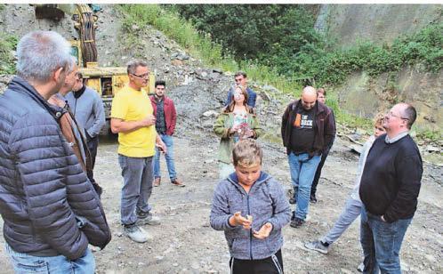 Der NRW-Merchantday fand diesmal im Steinbruch Weuste statt. F.: Bindmann