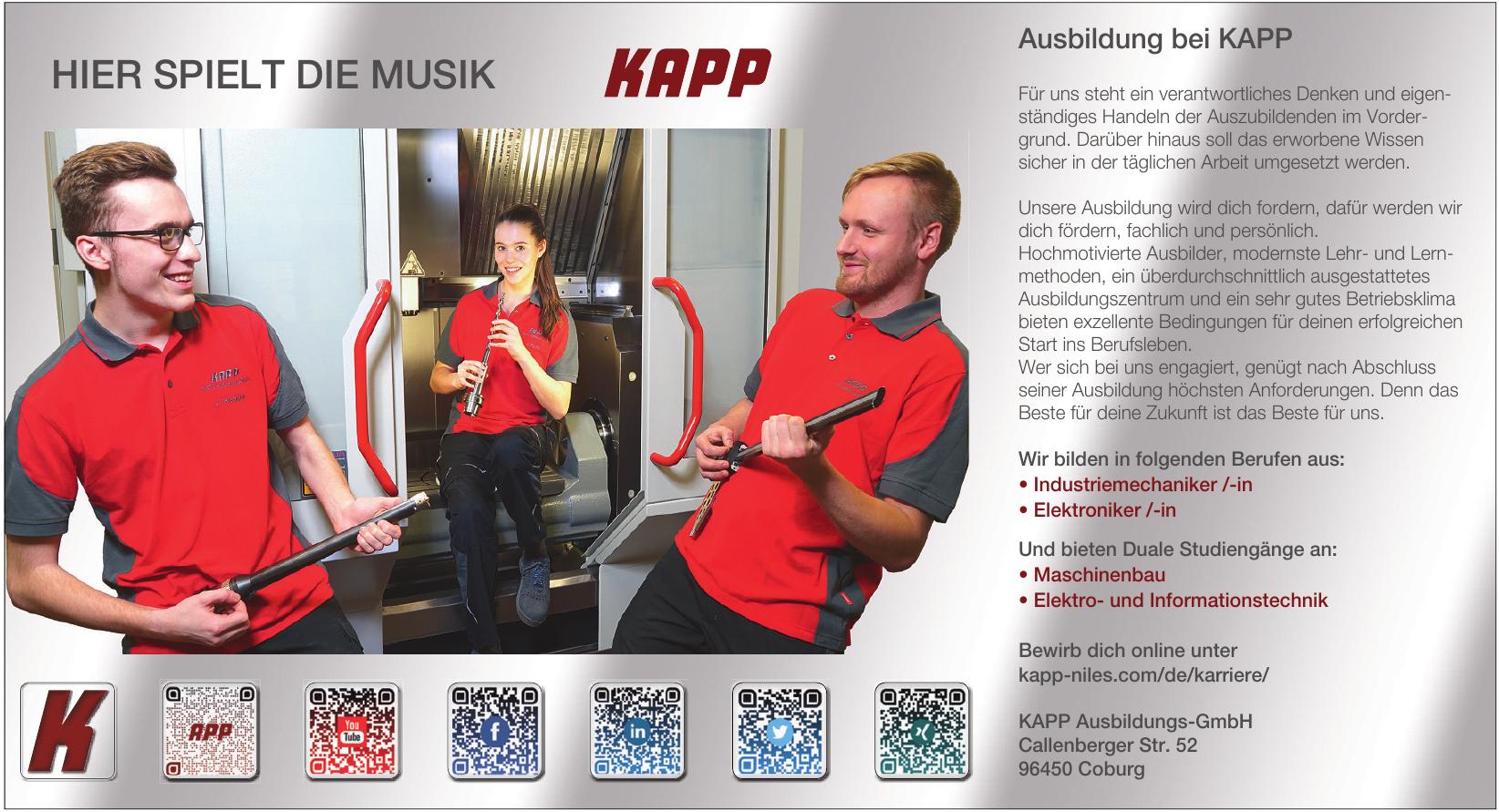 KAPP Ausbildungs-GmbH