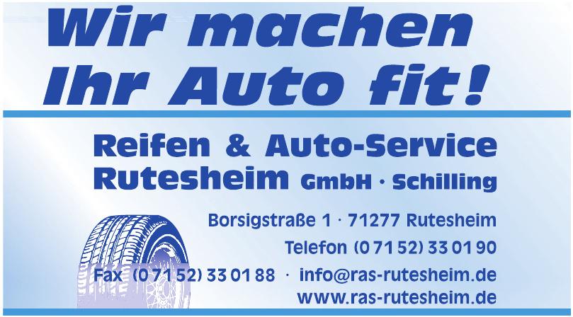 Reifen & Auto-ServiceRutesheim GmbH
