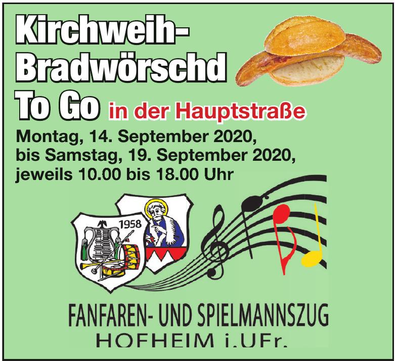 Kirchweih-Bradwörschd To Go