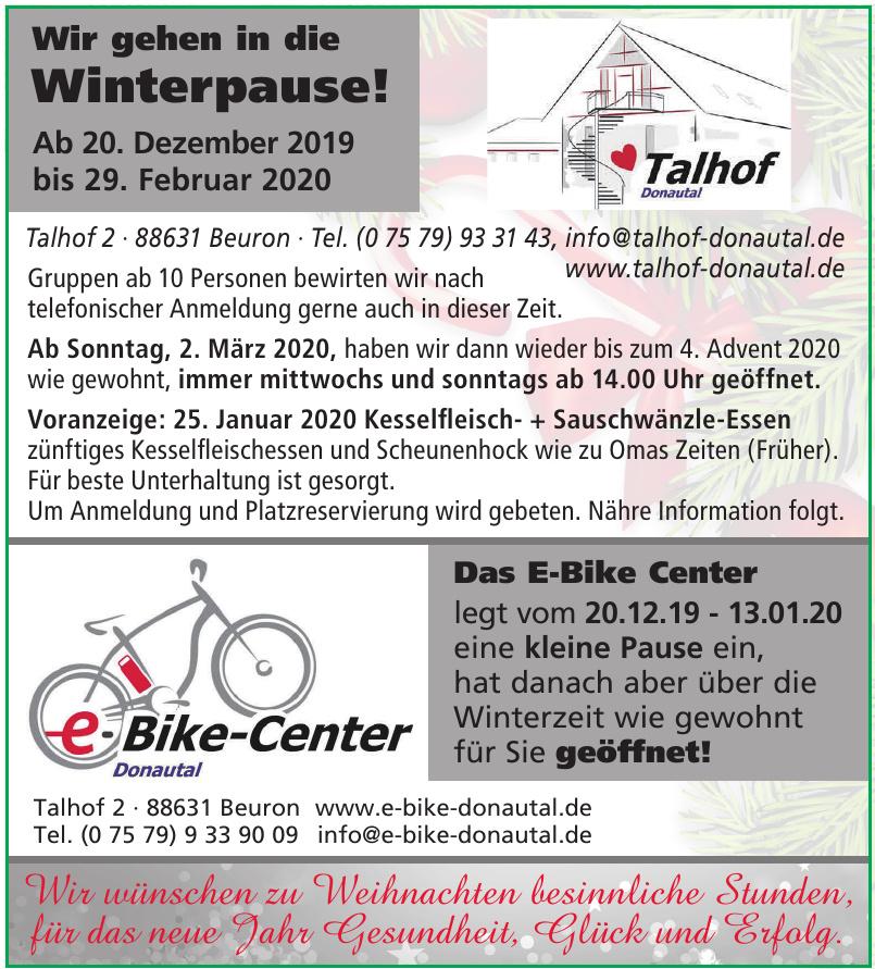E-Bike-Center Donautal