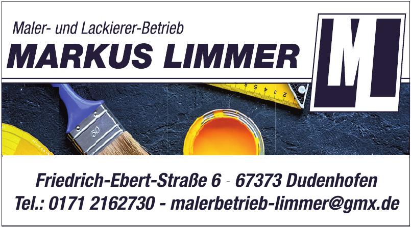 Maler- und Lackierer-Betrieb Markus Limmer