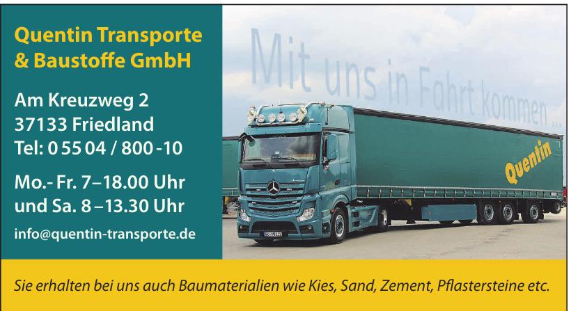 Quentin Transporte und Baustoffe GmbH