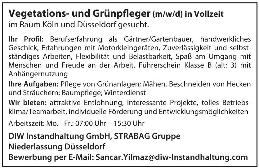 DIW Instandhaltung GmbH, STRABAG Gruppe