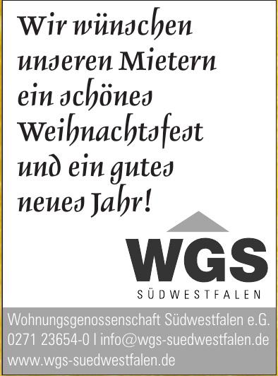 Wohnungsgenossenschaft Südwestfalen e.G.