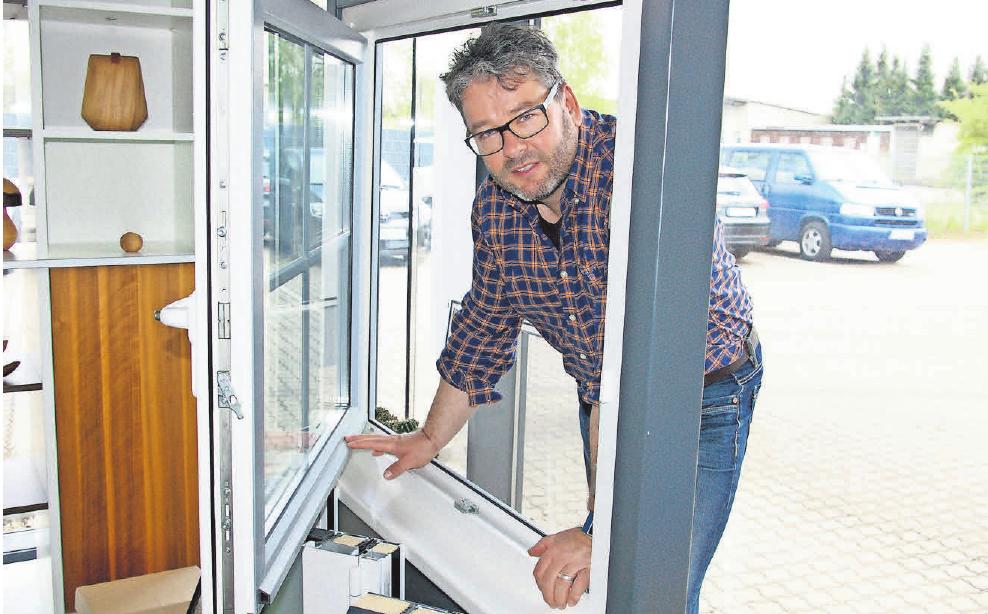 Ingo Hofmann sorgt für Sicherheit: Er ist mit seinem Betrieb Gründungsmitglied der Schutzgemeinschaft Zuhause sicher.