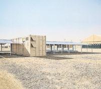 Die mobilen Solarcontainer der Klaus Faber AG eignen sich in Verbindung mit regenerativen Energien bestens für Off-Grid-Anwendungen. Foto: Faber Infrastructure GmbH