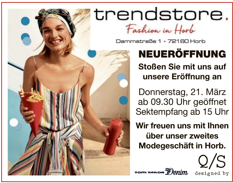 trendstore Fashion in Horb