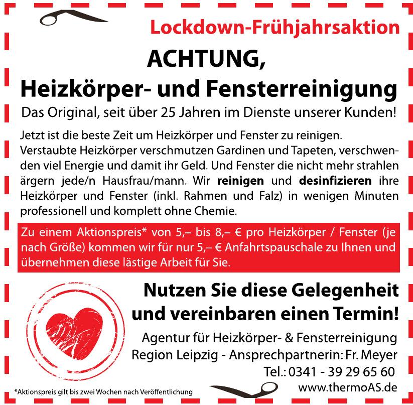 Agentur für Heizkörper- & Fensterreinigung