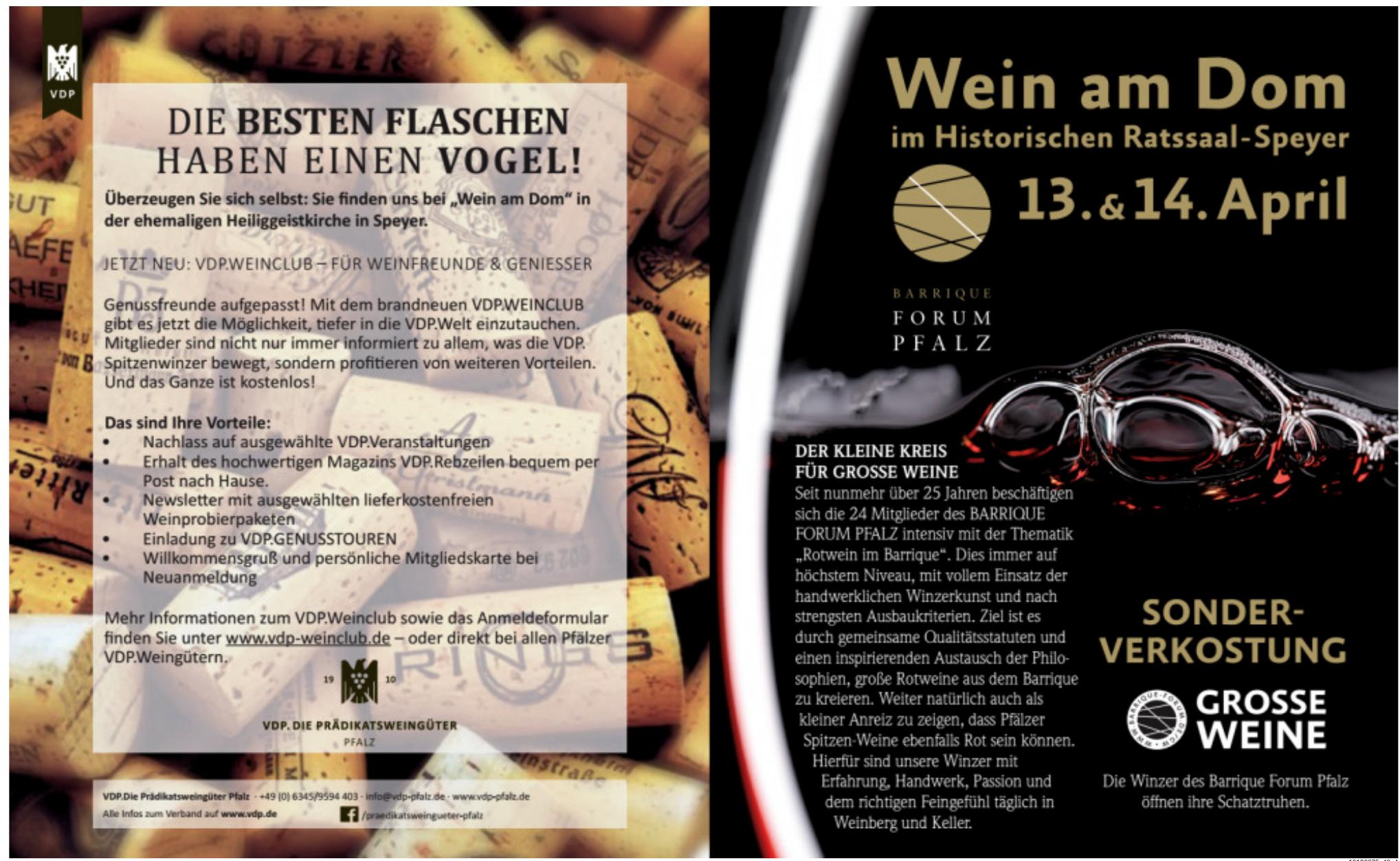 VDP - Die Prädikatsweingüter Pfalz