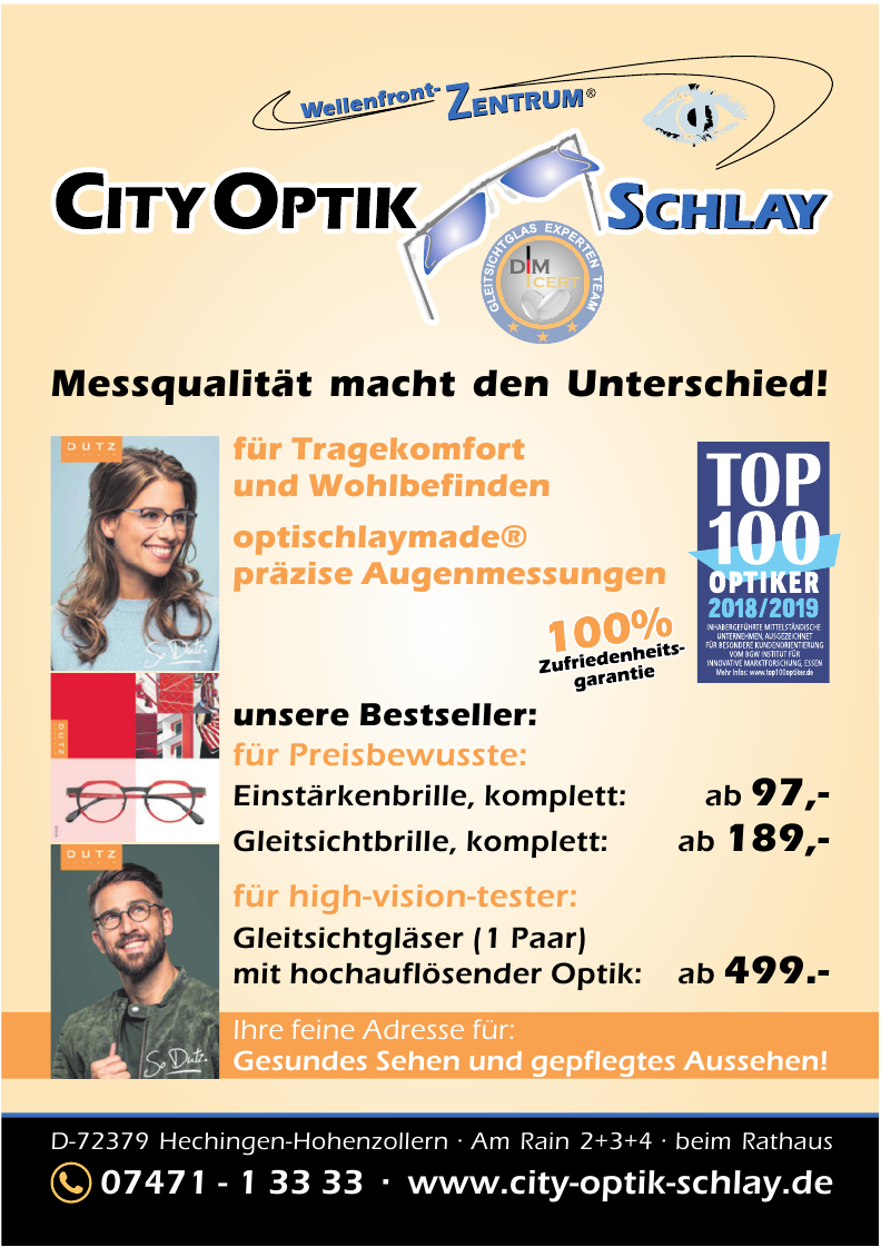 City Optik Schlay