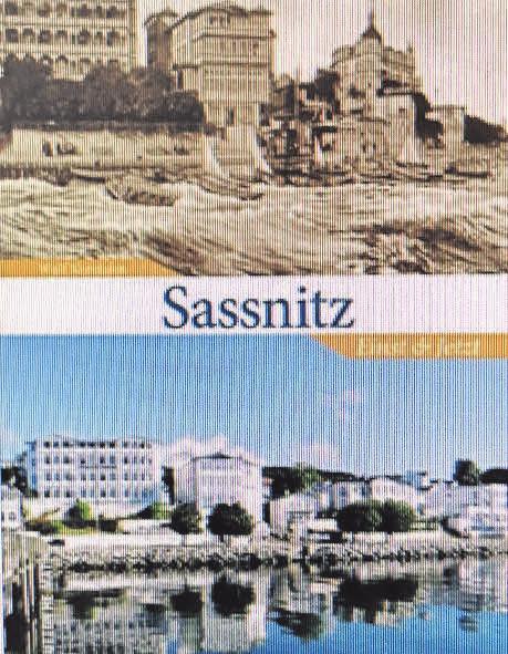 """Neuer Bildband """"Sassnitz – Einst und Jetzt"""" von Wulf Krentzien. Foto: Verlag"""