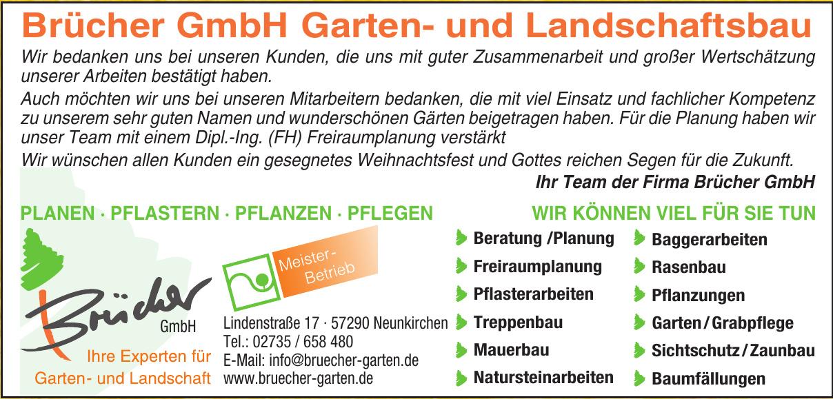 Brücher GmbH Garten- und Landschaftsbau