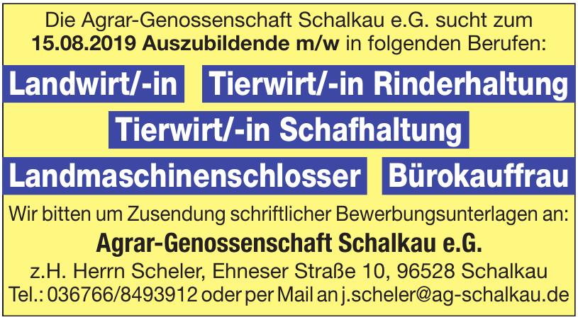 Agrar-Gevnossenschaft Schalkau e.G.