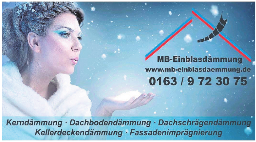 MB-Einblasdämmung