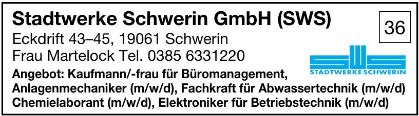 Stadtwerke Schwerin GmbH (SWS)