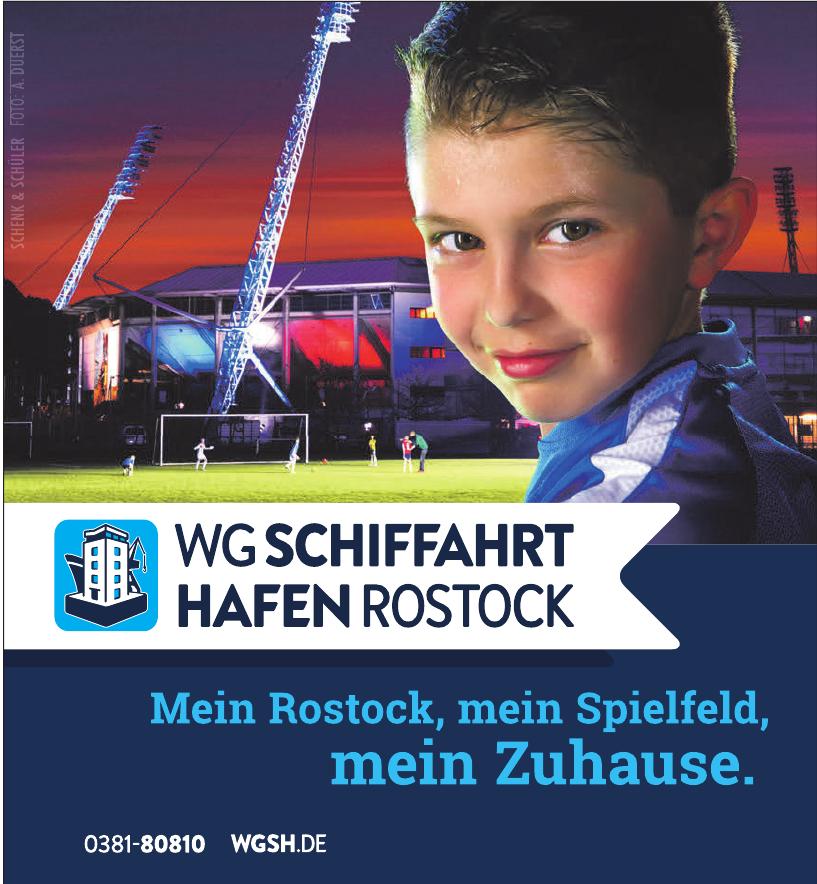 WG Schiftfahrt Hafen Rostock