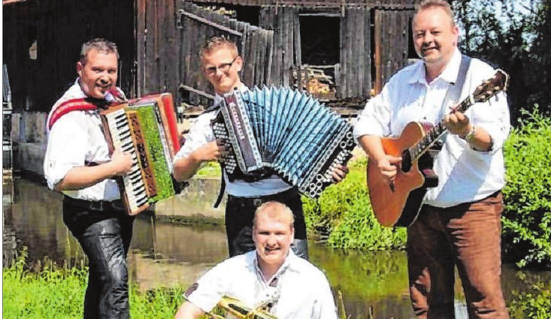 """Die Band """"Waidler Wahnsinn"""", hier ein Archivbild, gastiert am kommenden Wochenende beim Schützenfest in Schwarzenau. Foto: Archiv"""
