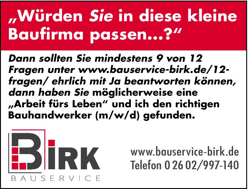 Bauservice Birk