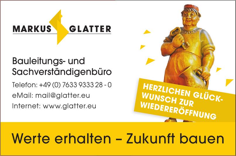 Markus Glatter - Bauimpulse & Bauprojekte GmbH & Co.KG